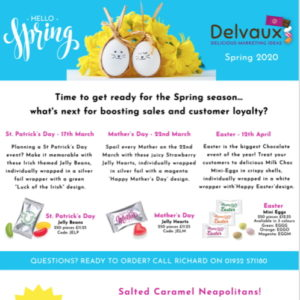 Spring 2020 Newsletter From Delvaux