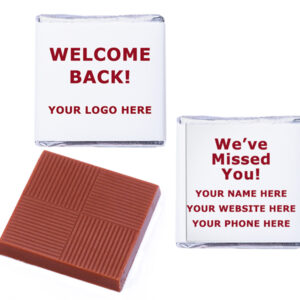 Welcome Back Logo Personalised Missed