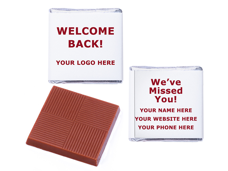 Welcome Back Logo Personalised