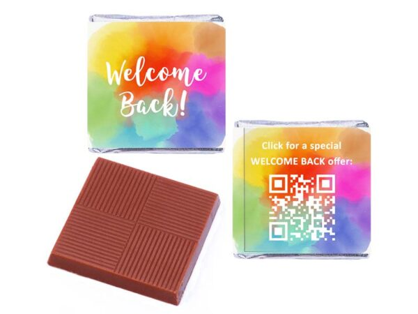 Delvaux Welcome Back Personalised Rainbow QR Code 800 600