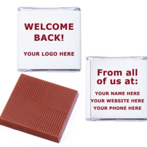 Welcome Back Logo Personalised From