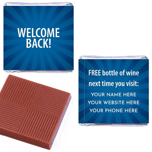 Welcome Back Your Customers… And Keep Them Coming Back For More!