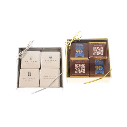 Delvaux Personalised Chocolates Sweets 4 Chocolate Gift Box IMG 1732 V2 500 500